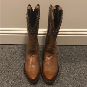 Cowboy boots studded